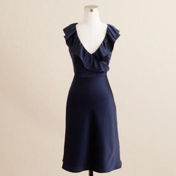 J. Crew Dresses & Skirts - J.CREW ROSALINE DRESS IN TRICOTINE